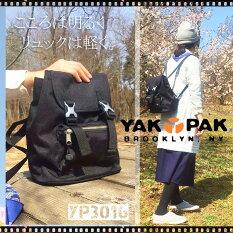 YAKPAKヤックパックリュックデイパックバックパック/レディースメンズミニ通勤通学旅行YP3016