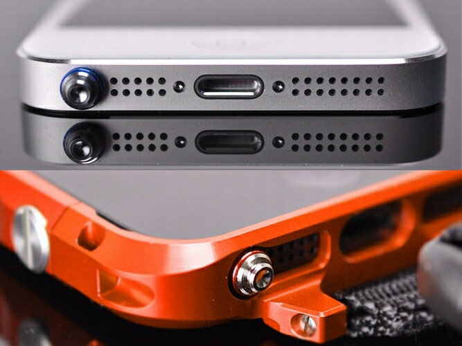 アルマニア ヘッドフォンキャップ プルタイプ。アルミニウム削り出し(全8カラー)イヤフォンジャックアクセサリー スマホピアス SIM交換
