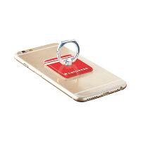 iPhone, スマホリングホルダー Gizmobies × Converseコラボレーション。人気のスポーツブランドロゴ&ストライプをあしらったスマートフォン汎用メタル製ホルダーリング。スタンドにも。落とさない