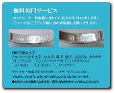 【2本セット価格プラチナ900】【ハンドメイド・幅オーダー可能】★☆LADY