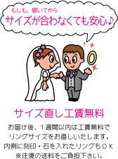 【2本セット価格プラチナ900】【ハンドメイド・男女幅オーダー可能】★☆LADY