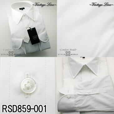 オリジナルドレスシャツ Vintage Line コンフォート 長袖 GIZA88 柄選択有 4柄 メンズ fs3gm