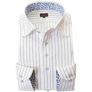 ドレスシャツ国産長袖綿100%ドレスシャツ