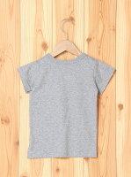 branshes 【TioTio加工】星アップリケ半袖Tシャツ ブランシェス カットソー