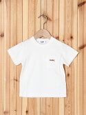 X-girl Stages LOGO POCKET TEE エックスガールステージス【送料無料】