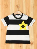 X-girl Stages STAR STRIPED TEE KIRAKY エックスガールステージス【送料無料】