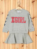 【SALE/40%OFF】X-girl Stages XGS★ × Champion SWEAT DRESS エックスガールステージス ワンピース【RBA_S】【RBA_E】【送料無料】