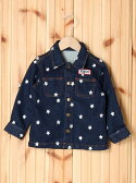 【SALE/35%OFF】X-girl Stages JACKET STAR EMBROIDERY (2T,3T) エックスガールステージス コート/ジャケット【RBA_S】【RBA_E】【送料無料】