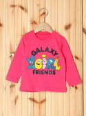 【SALE/35%OFF】X-girl Stages L/S TEE GALAXY FRIENDS(12M~3T) エックスガールステージス カットソー【RBA_S】【RBA_E】【送料無料】