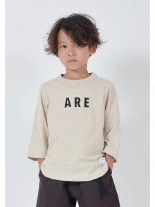 【SALE/40%OFF】FOV FOV/(K)ARE7分丈Tシャツ トライアングル ストア カットソー キッズカットソー ベージュ グレー【RBA_E】