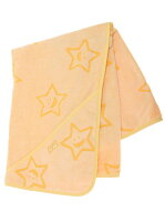 """STAR""TERRY_CLOTH_AFGHAN_YELLOW"