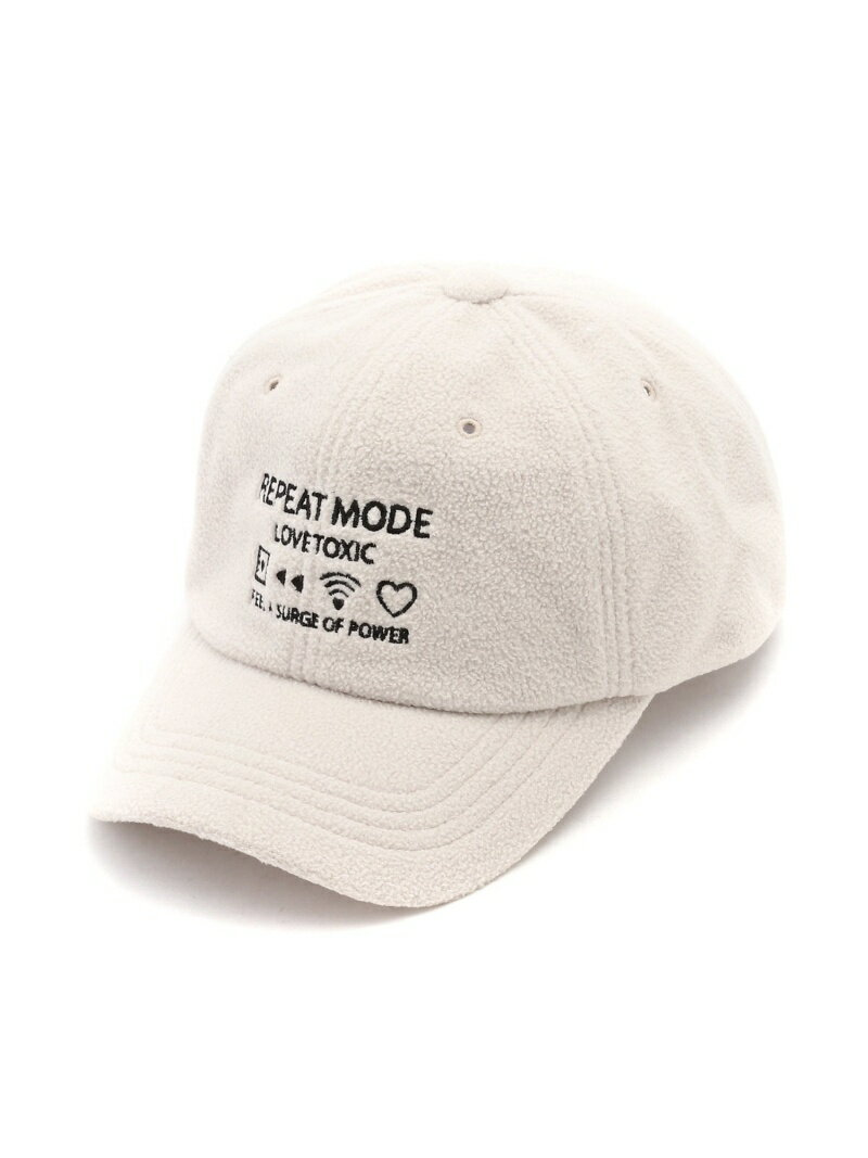 【SALE/47%OFF】LOVETOXIC フリースローCAP ナルミヤオンライン ファッショングッズ キッズ用品 ベージュ ブラック パープル【RBA_E】