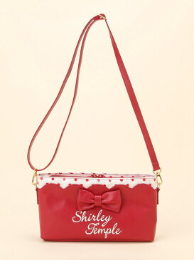 ShirleyTemple クルーズライン ポシェット(T) シャーリーテンプル バッグ キッズバッグ レッド ピンク【送料無料】
