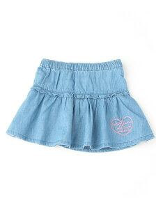 3can4on キッズ スカート サンカンシオン 3can4on(Kids)【30%OFF】3can4on(Kids) フリルデニム...