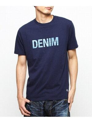 DENIM BY VANQUISH & FRAGMENT denim crew neck T-shirt デニムバイヴァンキッシュアンドフラグメント カットソー【RBA_S】