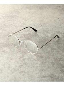 【SALE/45%OFF】tk.TAKEO KIKUCHI メタルフレームオーバル型メガネ(3048) ティーケータケオキクチ ファッショングッズ メガネ シルバー