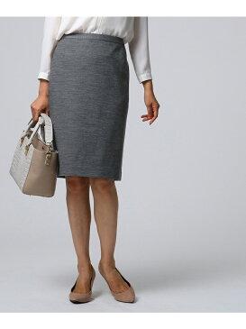 UNTITLED [L]ストレッチソフトタイトスカート アンタイトル スカート【送料無料】