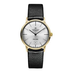 汉密尔顿(W)Intramatic Hamilton时尚商品手表银色免运费