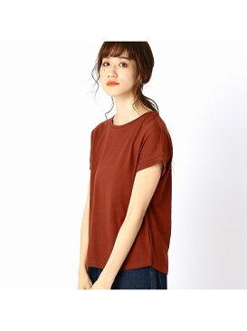 COMME CA ISM 【シンプル/ベーシック】Tシャツ コムサイズム カットソー Tシャツ ブラウン ホワイト ネイビー ベージュ カーキ ブルー