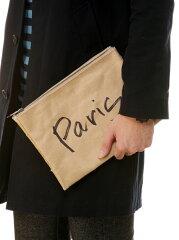 【送料無料】MATATABI *Paper Clutch Bag -Small- トーキング アバウト ジ アブストラクション