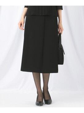 自由区 FORMAL 【楽々な着心地】NOIE15平二重 フレアスカート ジユウク スカート【送料無料】