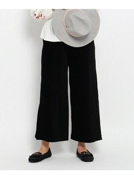 【SALE/70%OFF】THE SHOP TK(Women) カットコーデュロイスリットワイドパンツ ザ ショップ ティーケー パンツ/ジーンズ【RBA_S】【RBA_E】