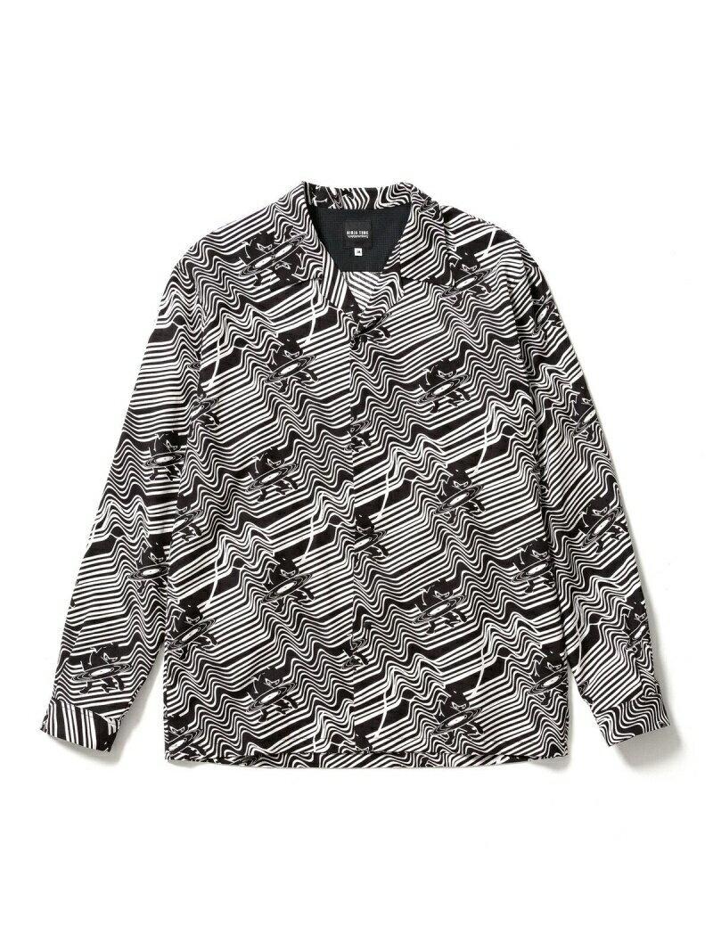 トップス, カジュアルシャツ BE AT TOKYO NINJA TUNE Sasquatchfabrix. LS SHIRT