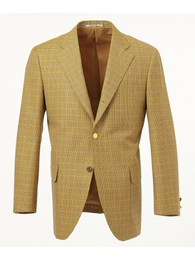 J. Press A.W.C. Gun Club Check Sack Blazer BZOVKM0006: Yellow