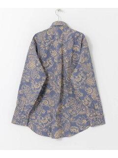 Madison Classic-Fit Sport Shirt, Outline Floral Print MG03496 100159399-UM04: Blue