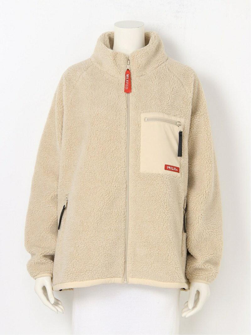 レディースファッション, コート・ジャケット MILKFED. BOA ZIP UP JACKET