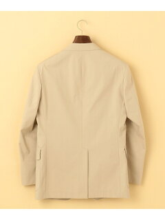 J. Press Cotton Polyester Poplin Sack Sportcoat JKOVBM0008: Beige