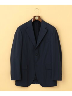 J. Press Cotton Polyester Poplin Sack Sportcoat JKOVBM0008: Navy