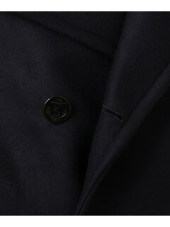 J. Press Wool Melton Peacoat COOVYW0001: Navy