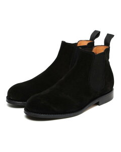 Suede Chelsea Boots 51-32-0111-232: Black