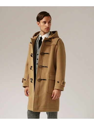 J. Press Cuba Beach Triple Pile Duffle Coat COOVYW0010: Camel