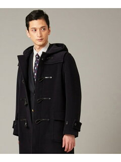 J. Press Cuba Beach Triple Pile Duffle Coat COOVYW0010: Navy