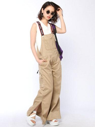 X-girl LOGO BELT WORK OVERALL エックスガール パンツ/ジーンズ【RBA_E...