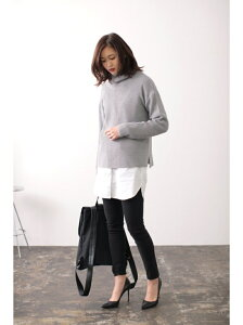 【SALE/59%OFF】AZUL by moussy 比翼長袖シャツワンピース…