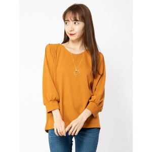 [SALE / 28% OFF] CECIL McBEE Neck Shoulder Tuck Tops Cecil McBee Cut-Sew Cut-Sew Other Orange Brown Navy Green