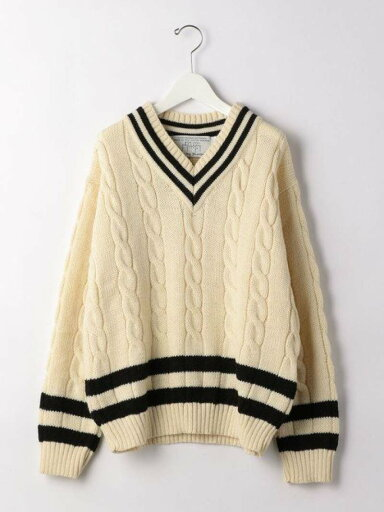 Wool Cricket Sweater 3213-499-1131: Natural