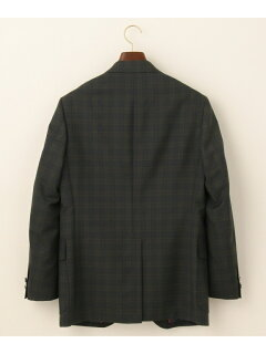 J. Press Cuba Beach Tartan Sack Blazer BZOVBM0202: Navy