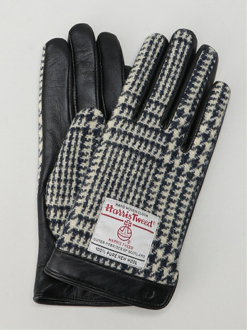 iTouch Gloves ハリスツイードメンズグローブ