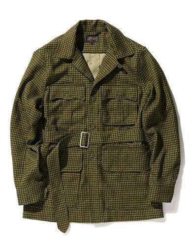 Military Tropical Jacket 11-18-5281-139: Gun Club Check