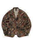 Beams Plus Batik Print 4 Button Jacket 11-16-1667-791