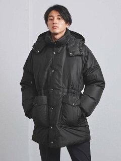 Nylon Taffeta Retro Down Coat 1125-199-7527: Black
