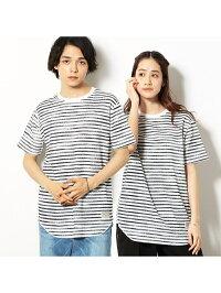 COMME CA ISM ワッフル ロング Tシャツ