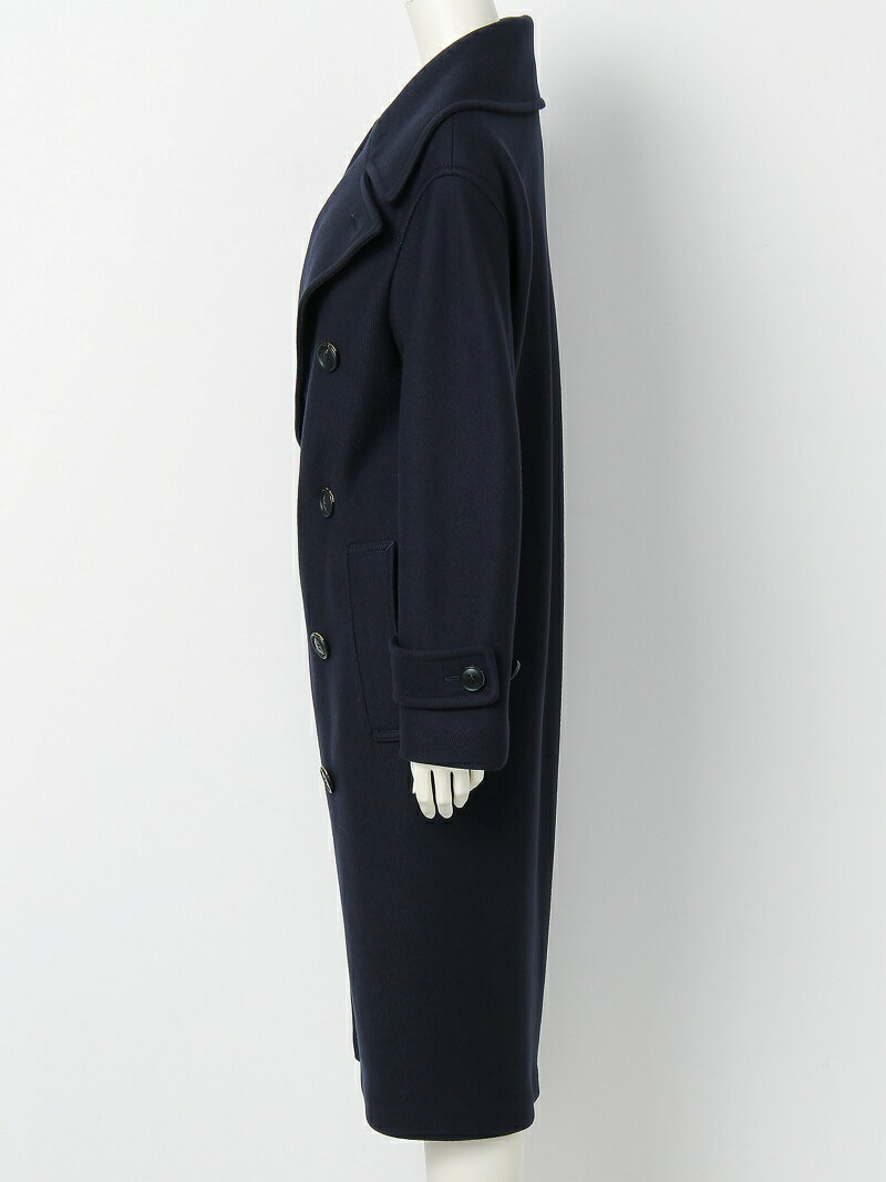 beautiful people diagonal melton convex shaped pea coat ビューティフル ピープル コート/ジャケット【送料無料】