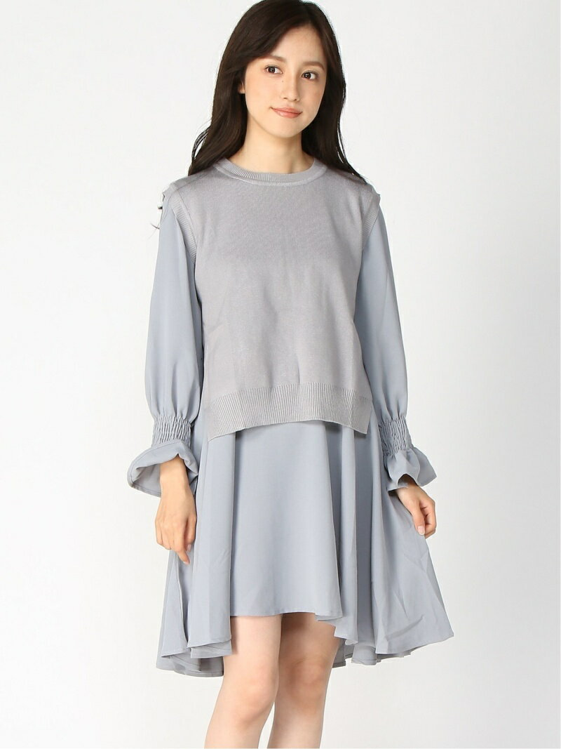 レディースファッション, ワンピース SALE15OFFaxes femme (W)OP