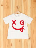 【SALE/30%OFF】X-girl Stages SMILEPRINT TEE エックスガールステージス カットソー【RBA_S】【RBA_E】
