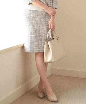 a.v.v WOMEN 【セットアップ対応】ツィードタイトスカート[WEB限定サイズ] アー・ヴェ・ヴェ スカート【送料無料】